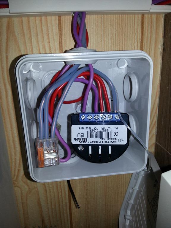 gestion d 39 un chauffe eau avec un relais 1 charge fibaro et une eedomus. Black Bedroom Furniture Sets. Home Design Ideas