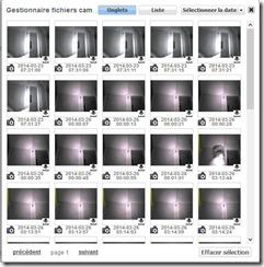 Historique-instantans_thumb Installation d'une caméra IP Heden sur la Zipabox